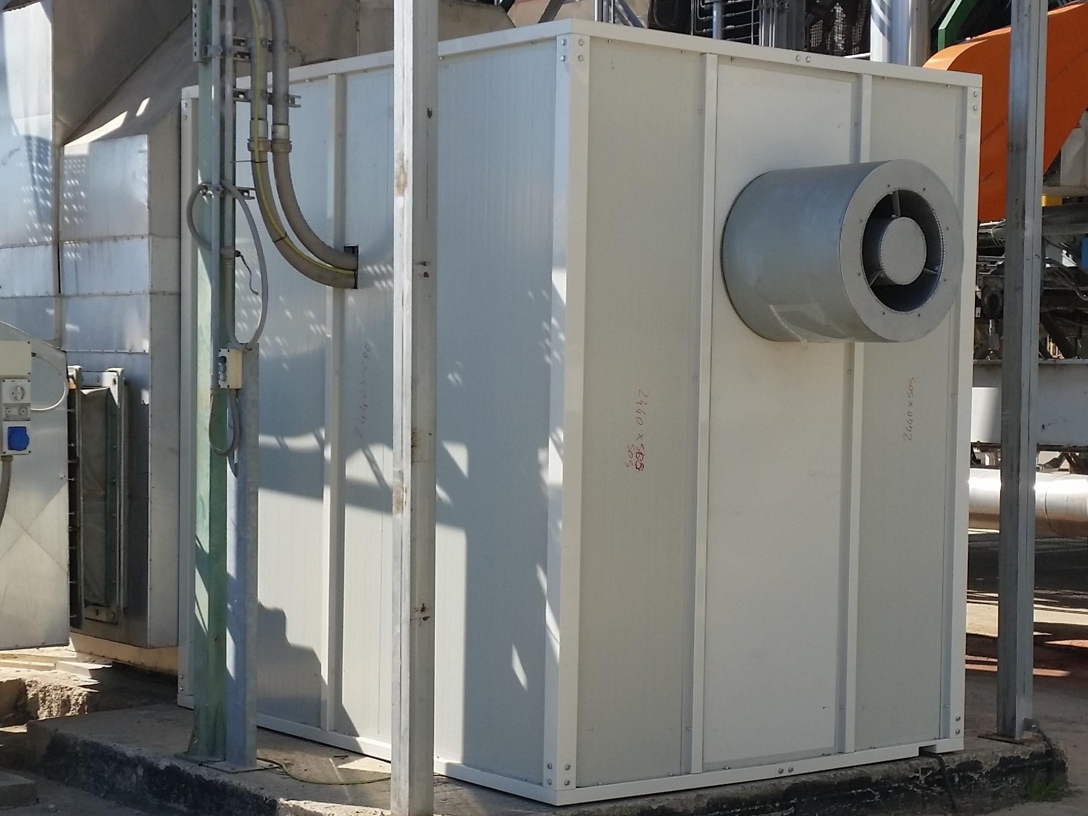 SVC for Enclosure Ventilation