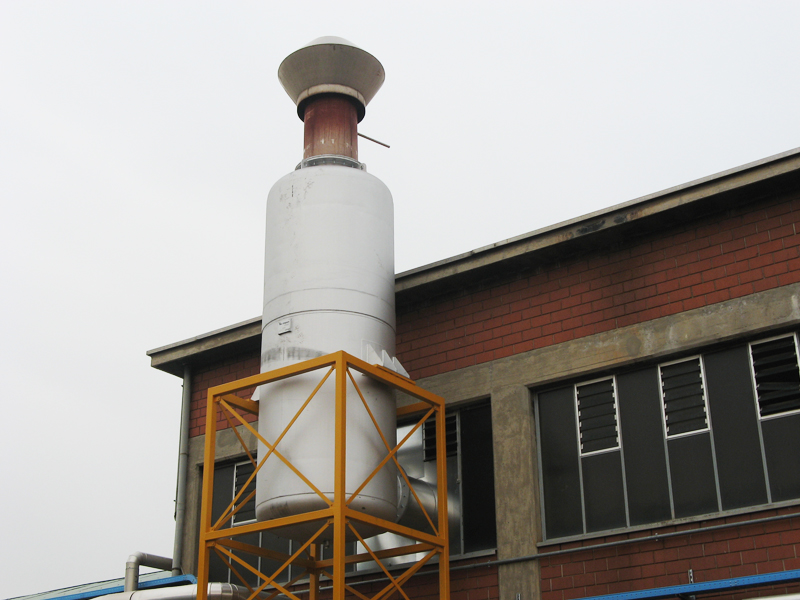 Industrial Boiler Exhaust Silencer