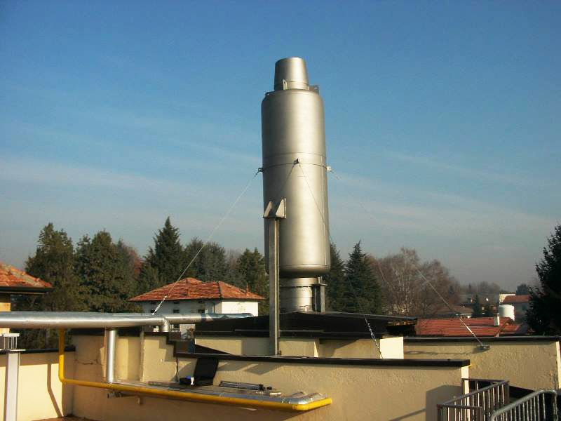 Industrial boiler Silencer