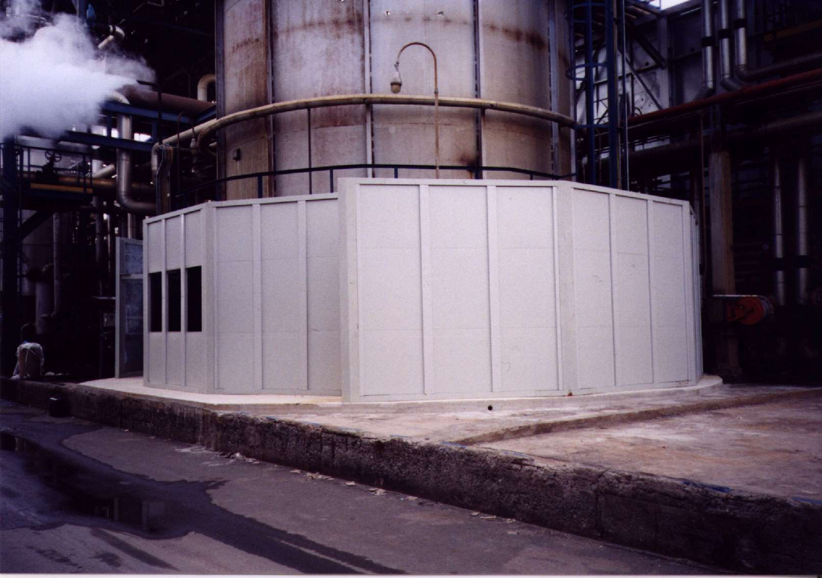 Stopson Barriers for Filtration Fans