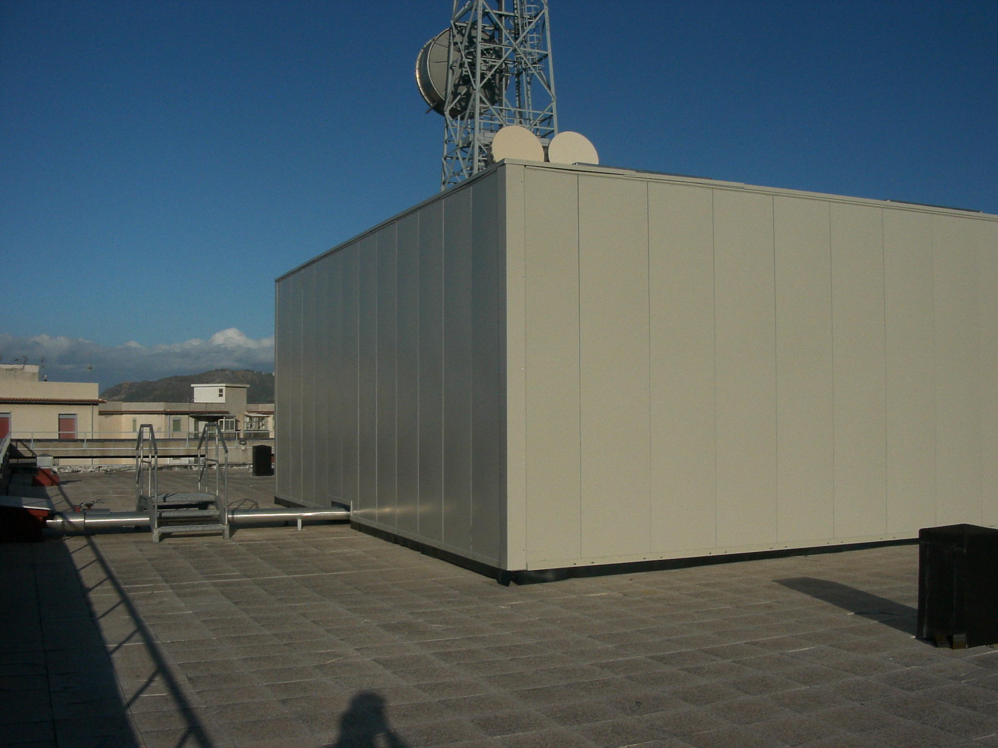 Barriers for Air Conditioning Chillers - HVAC