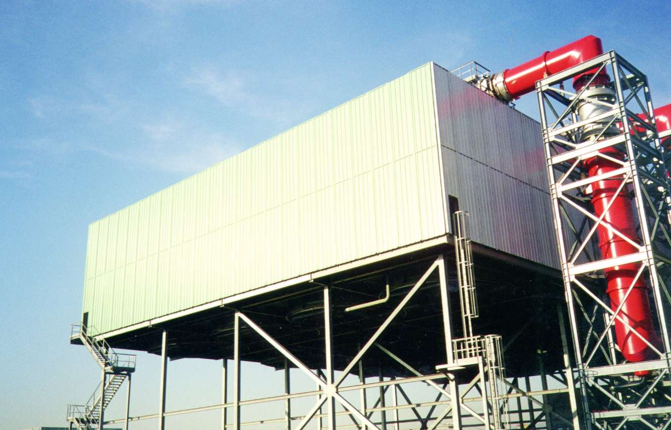 Air Condenser Acoustic Barrier
