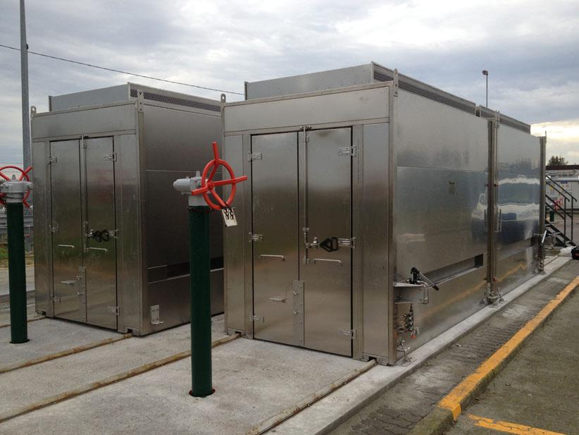 Enclosures - EN - Sliding - for Gar Reduction Station