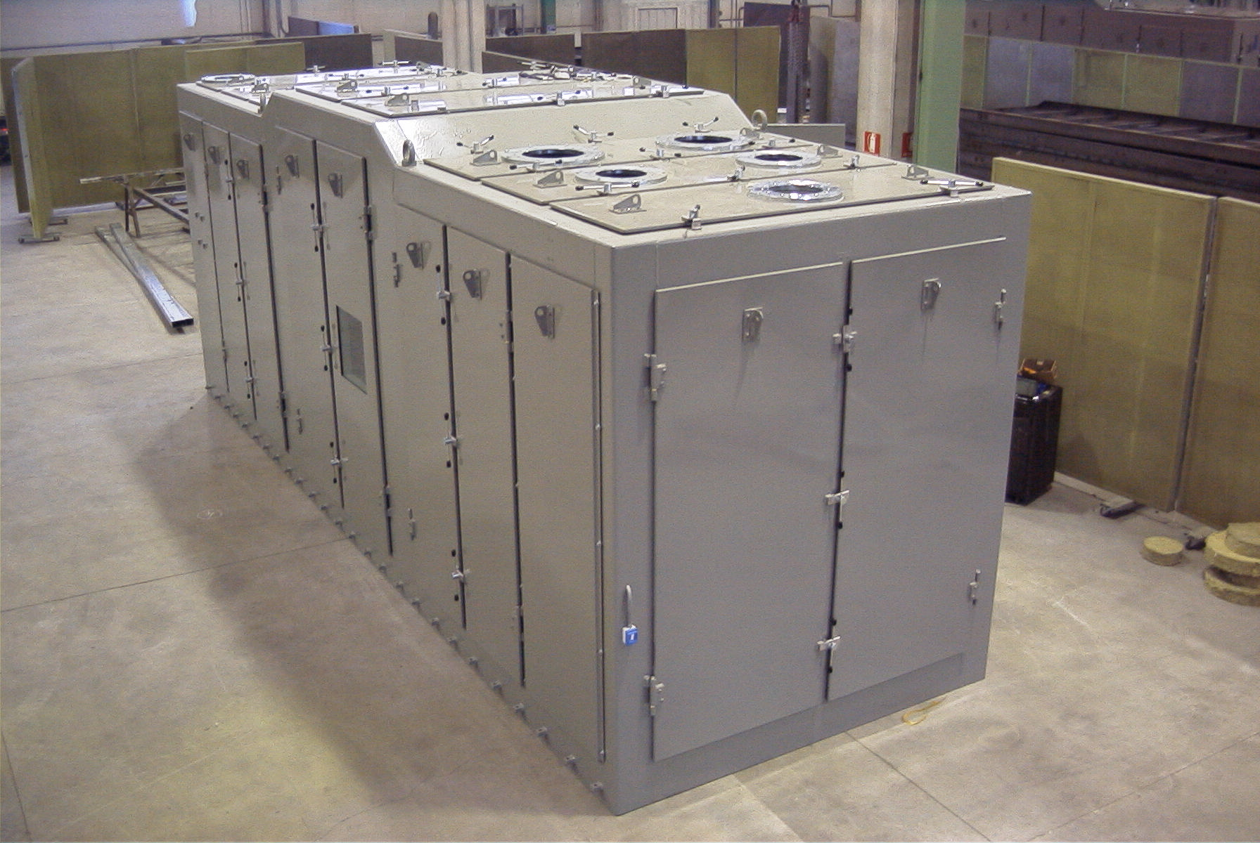 Diesel Genset Enclosure for Navy Application