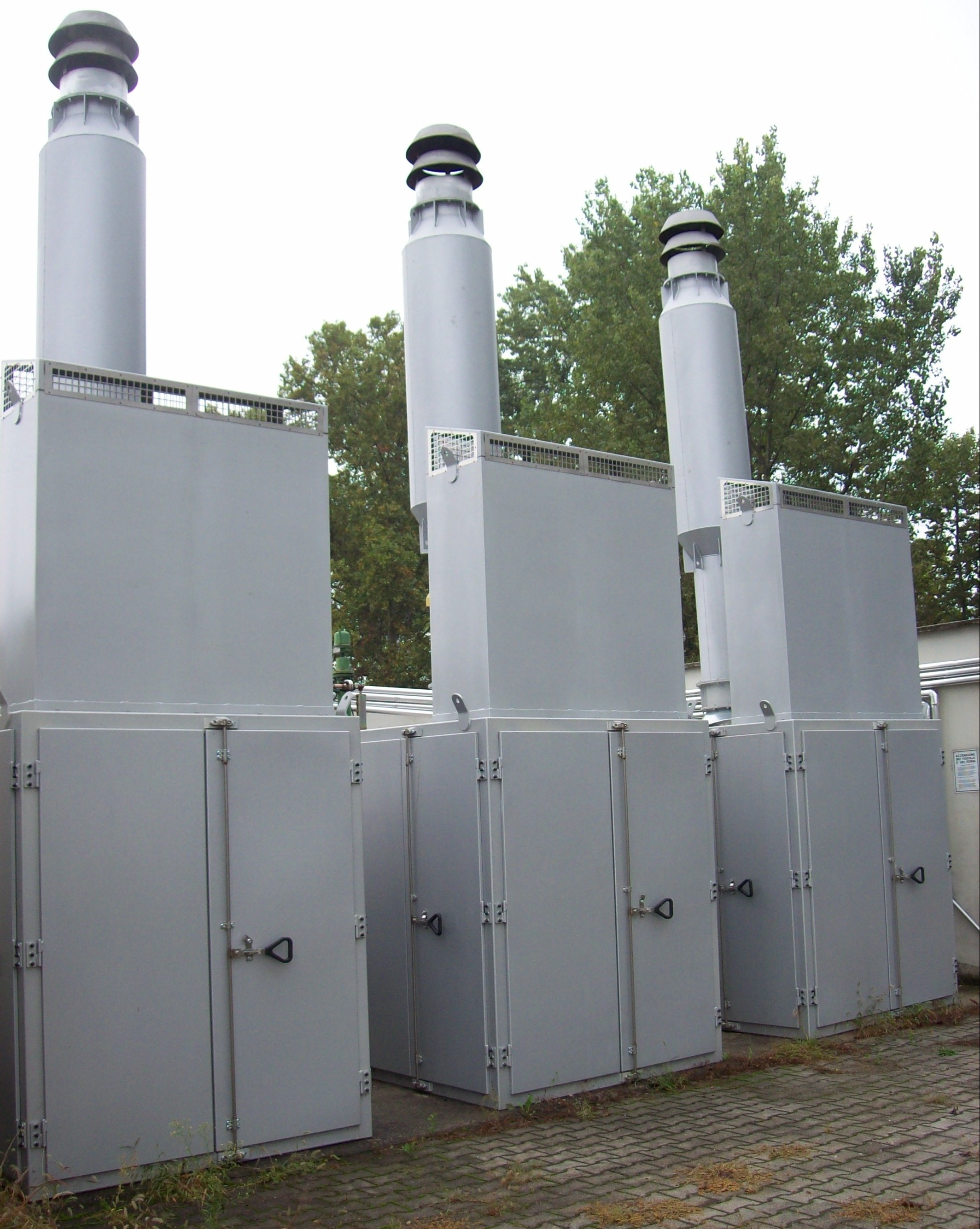 Natural Gas Heaters Enclosures & Silencers