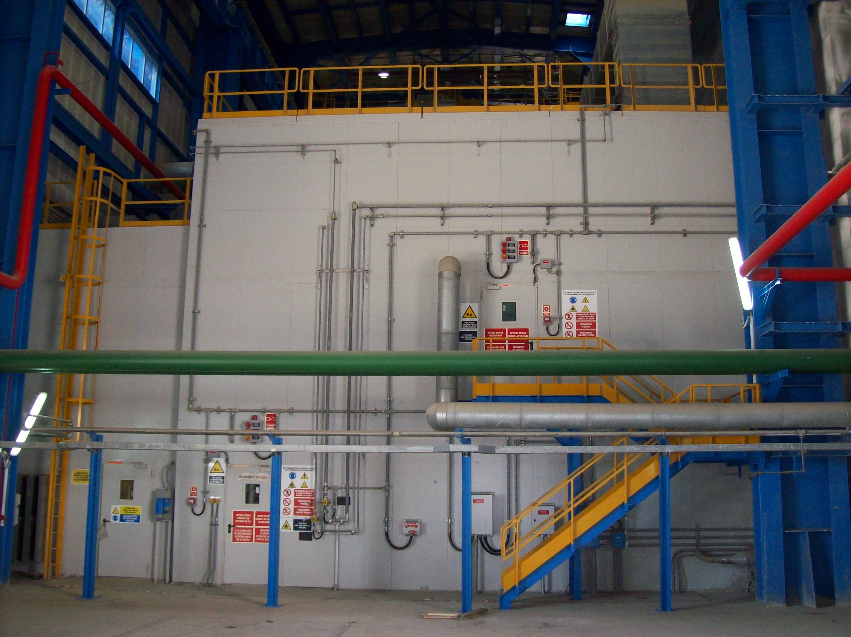 Indoor Gas Turbine Enclosure
