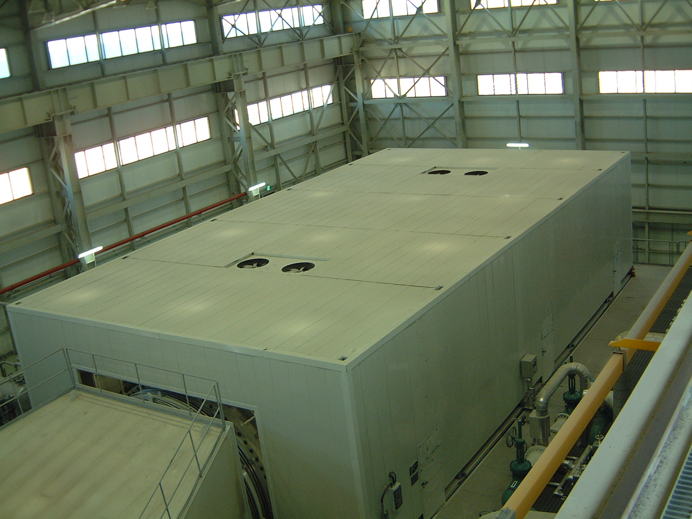 Steam Turbine and Generator Enclosure