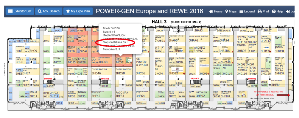 Stopson @Power Gen Europe 2016