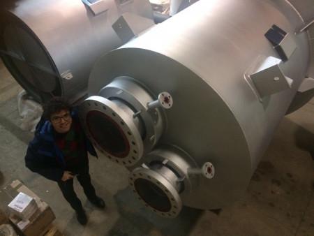 9 SPM Vent Silencers Ammonia Plant
