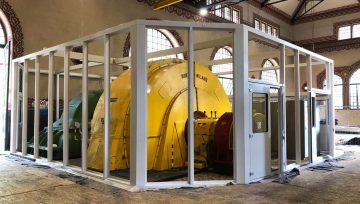 Enel Green Power insonorizza il Gruppo di Generazione n°3 della centrale idroelettrica di Bordogna (BG) con i cabinati Stopson italiana