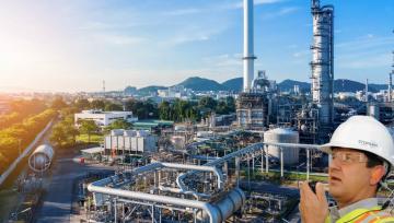 Riduzione del rumore negli impianti petrolchimici