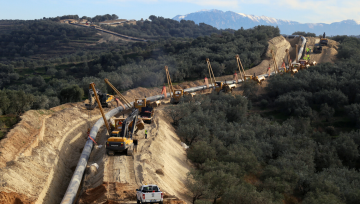 Stopson Italiana In-Line Silencers installed in the new Trans Adriatic Pipeline