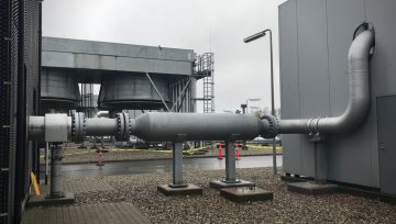 Stopson Italiana supplied In-Line Silencer for Gas Compression Station in Denmark