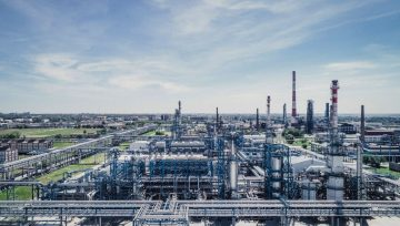 Stopson Italiana Vent Silencers to soundproof OMSK Oil refinery plant in Russia